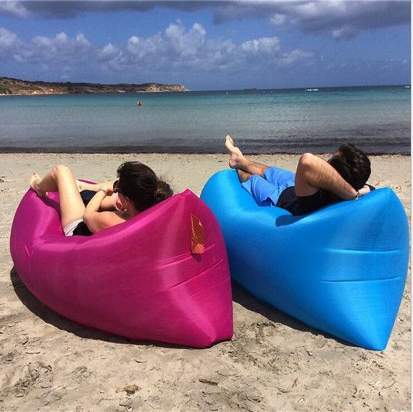 Handy And Clever Designed To Make You Comfortable Inflatable Lounger Lazy Bag Inflatable Sofa