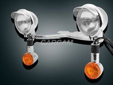 Passing Turn Signals Light Bar for Honda VTX 1300 C R S RETRO Cruiser Motorcycle