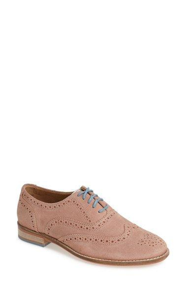 J SHOES 'Charlie' Leather Oxford (Women) available at #Nordstrom
