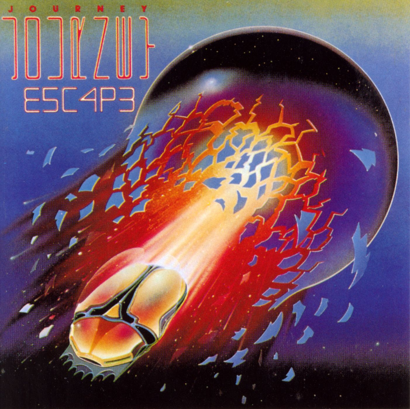July 31 1981 Album Cover Art Journey Albums Rock Album Covers