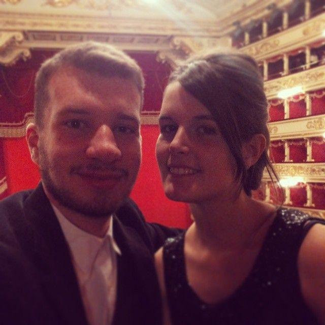 Un emozione immensa il Teatro alla Scala con te! # ...