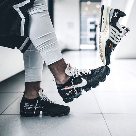 purchase cheap 9cd06 6076a UA II Off White X Nike Air Vapormax and UA Nike Air Presto Off White Shoes  - Artemisyeezy😚😚 www.artemisyeezy....  sneakersmag  nike  nikeair   vapormax ...