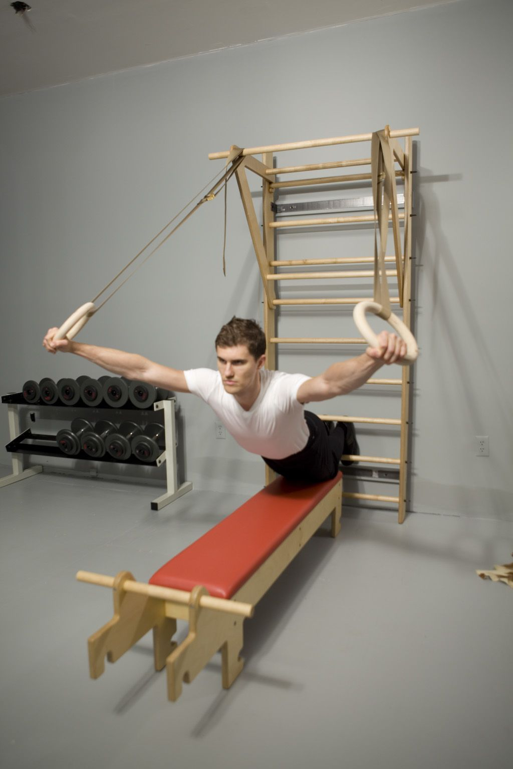 Stall Bars, Swedish Ladder, FORMA Totus www.thegymdesign.com | Christof Prus