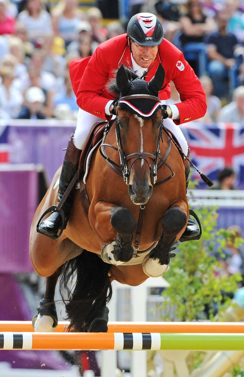 Canada S Ian Millar Riding Star Power Competing At The
