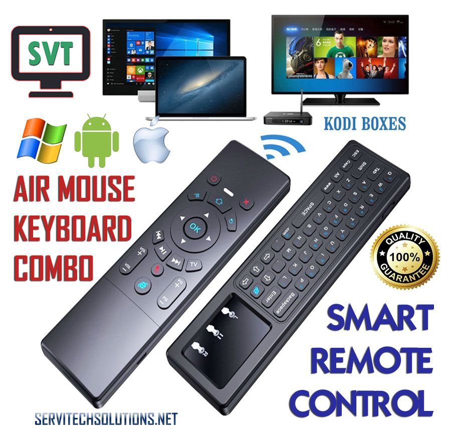Smart Remote Control T6 Backlit Air Mouse Keyboard Touchpad