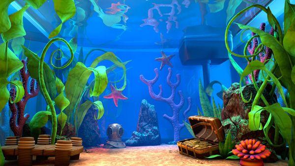 Aquarium Fish Tank Drawing Gdlawct Com