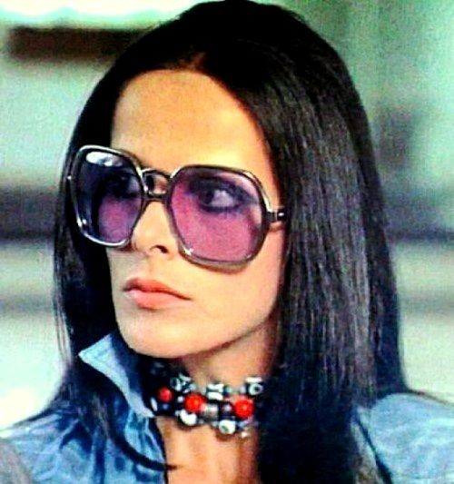 35dda44c39b Greek actress and style icon Elena Nathanael...OMG...it s the iconic  70-80 s octagonal shaped glasses