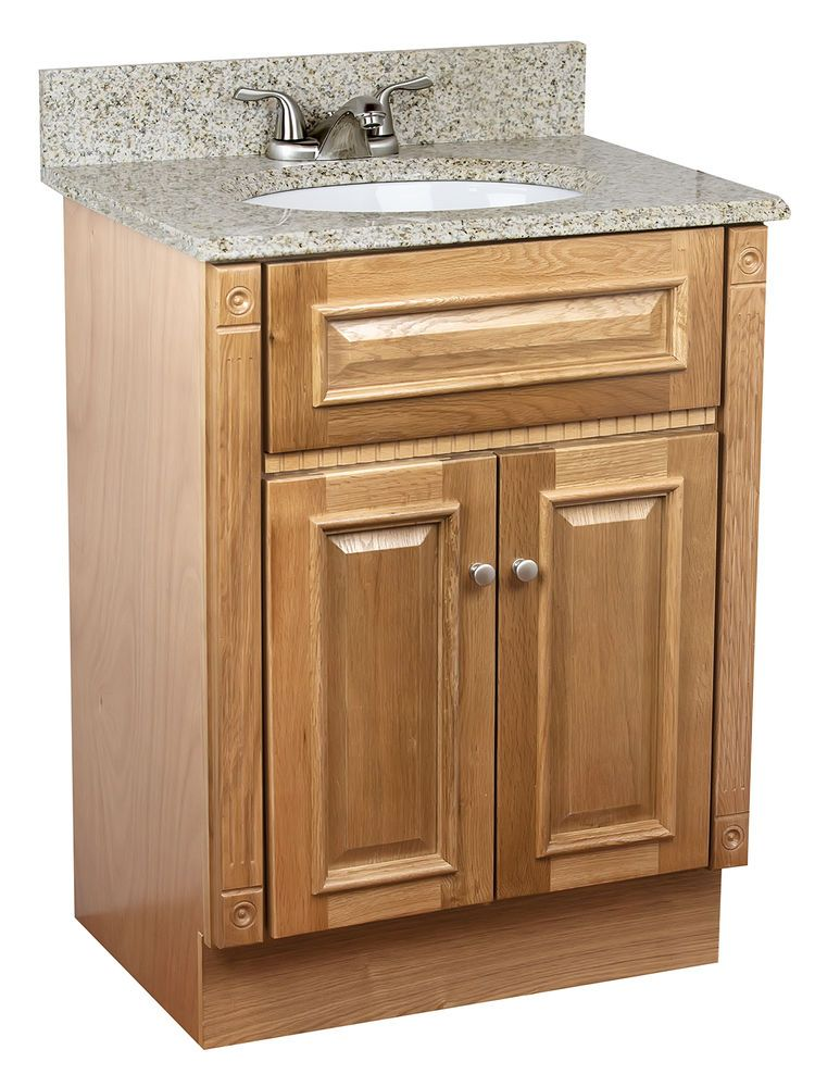 24 X 18 Oak Bathroom Vanity Granite Top Oak Bathroom Vanity 24 Inch Bathroom Vanity Bathroom Vanity