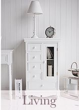 White Cottage Country Living Room Furniture Cottage Furniture