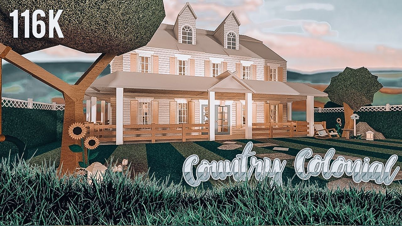 Country Colonial Family Home