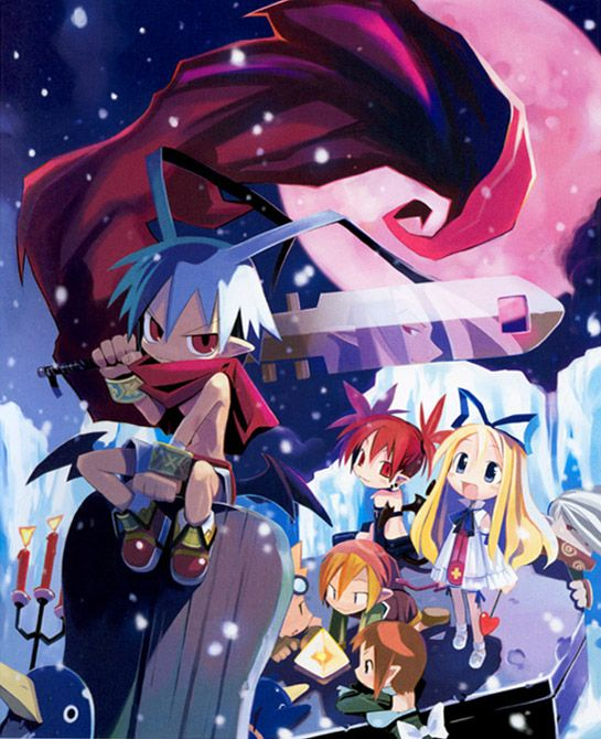 Promotional Art Characters Art Disgaea Hour Of Darkness Anime Disgaea Character Art