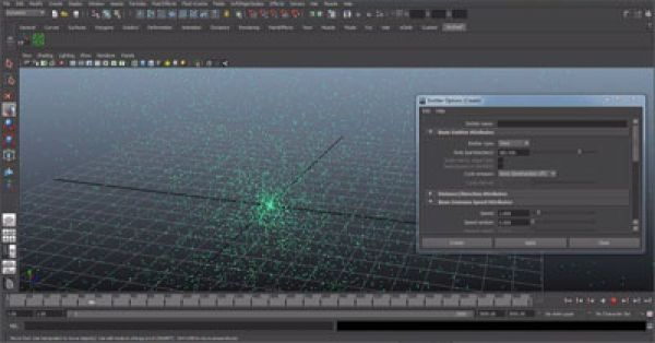 3D Maya Particles beginner tutorial 2 Continued tutorials related to particles in Maya 3D. HD video is here: http://www.3dmodelsunity.com/index.php/tutorials/maya/item/132-3d-maya-particles-beginner-tutorial-2-2