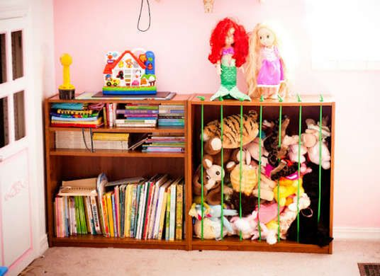 Control Kids Clutter With 7 Creative Diys Creative Toy Storage
