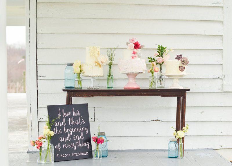 AHP Styled Shoot Sneak Peek | Wedding flower decorations