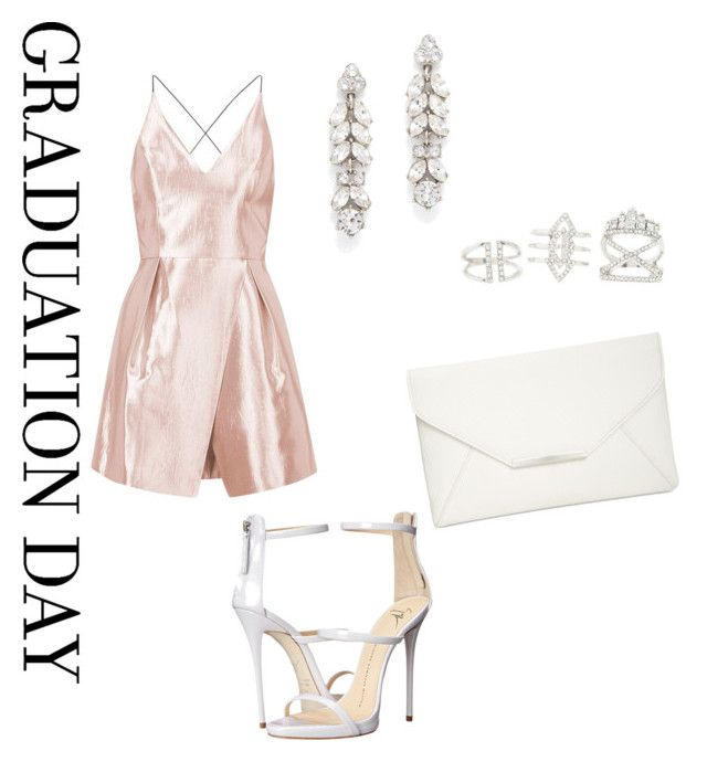 """""""Congrats Grad!"""" by jamesar ❤ liked on Polyvore featuring Topshop, Giuseppe Zanotti, Style & Co., Charlotte Russe, Ben-Amun and graduationdaydress"""