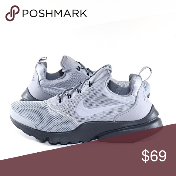 47263b3b49e3 Dark Grey · Nike Shoes · Nike Presto Fly Casual Shoes NWB
