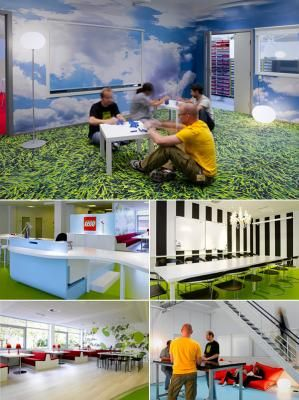 Cool Places To Work: Lego Corporate Headquarters In Denmark Keeps It  Interesting.