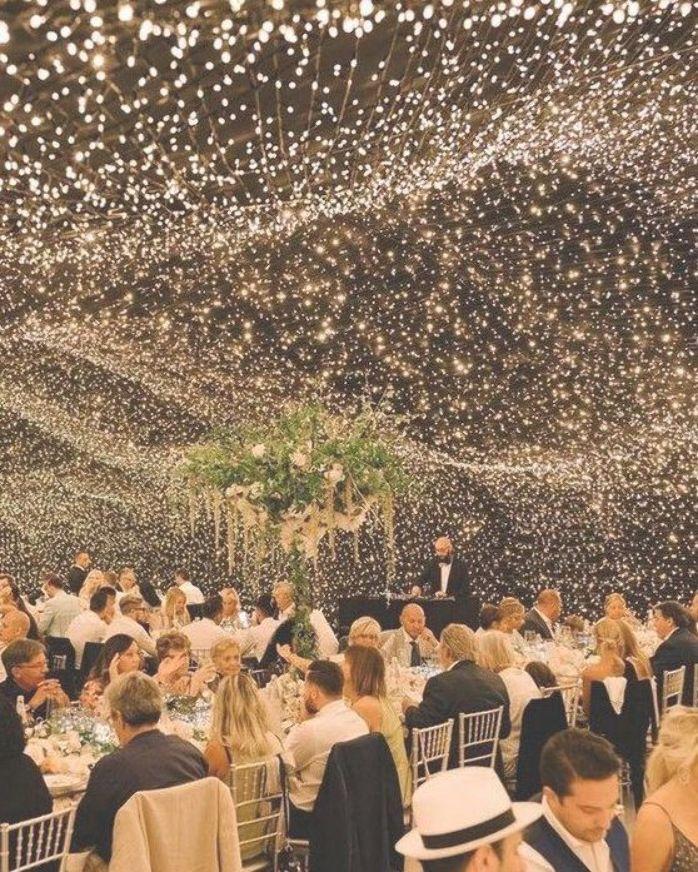 Wedding Lighting Ideas for Rustic Country Wedding Reception