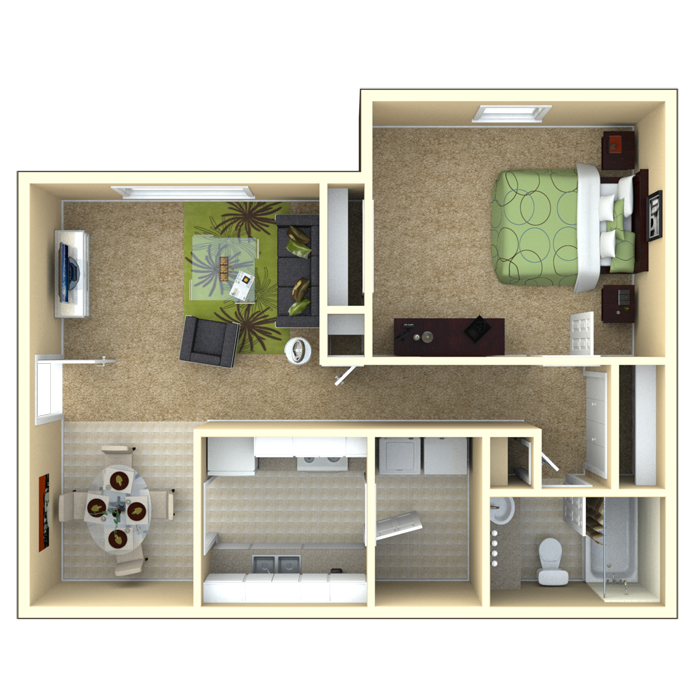 Looking For One Bedroom Apartment