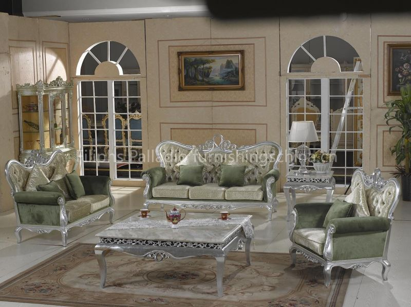luxary silver living room furniture | Luxury new classic living room  furniture - silver leaf gilding - 10 Best Images About Living Room On Pinterest Living Room Sofa