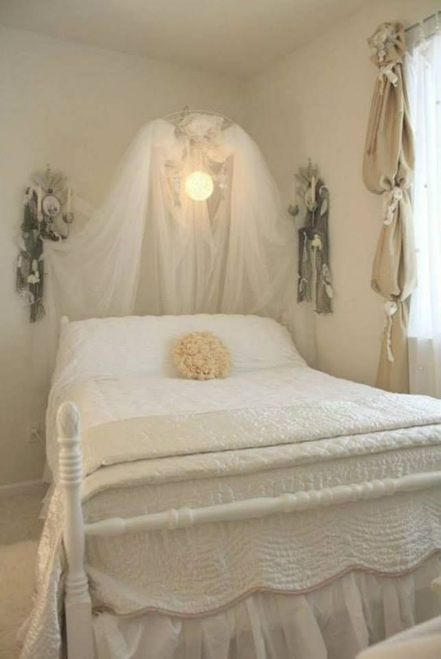Romantic White Bedroom: Pin By Erika Wilson On All Things White