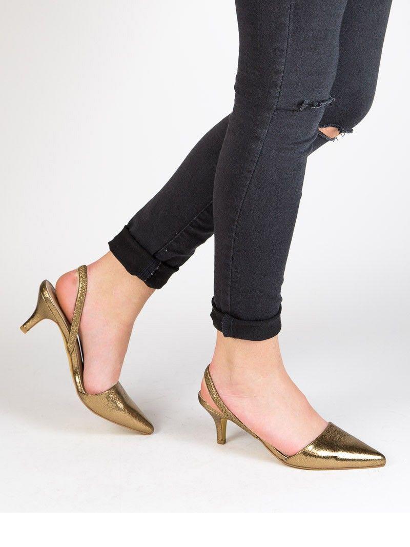 Zapato Rebajas Salón De Marypaz 8€ Plata Con O Bronce Tacón Dorado N8Om0vnw
