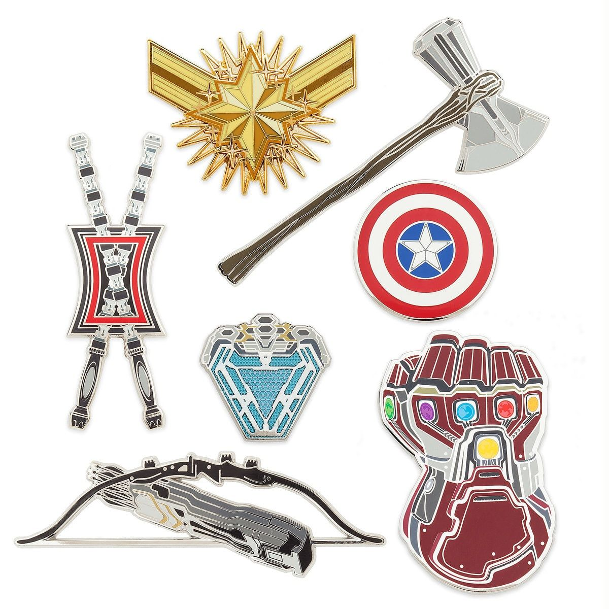 Marvels Avengers: Endgame Pin Set Out Now