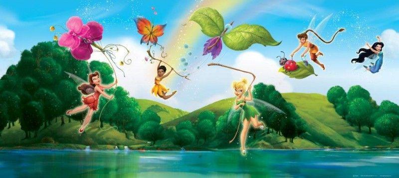 Disney fairies trilli poster per la cameretta decorazioni - Poster giganti per camere da letto ...