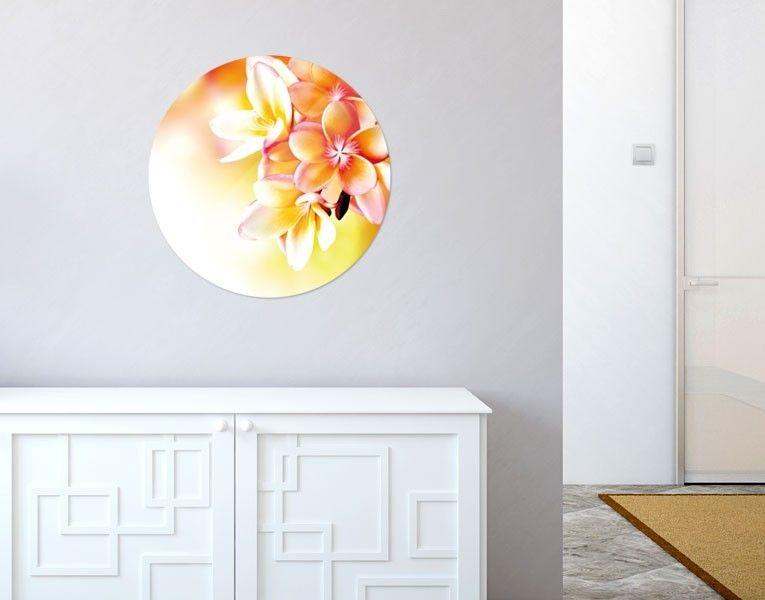Unser #Glasbild Gelber Blütentraum bringt Wände zum strahlen