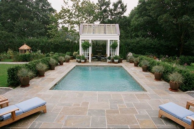 small pool good look and sizeck barry block landscape design contracting - Swimming Pool Landscape Designs