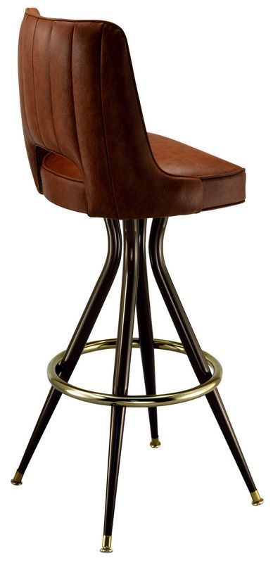 Commercial Restaurant Bar Stool Upholstered Restaurant Bar