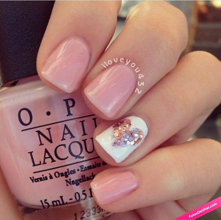 30 of the prettiest pink nail designs perfect for summer valentines day - Cute Nail Designs For Valentines Day