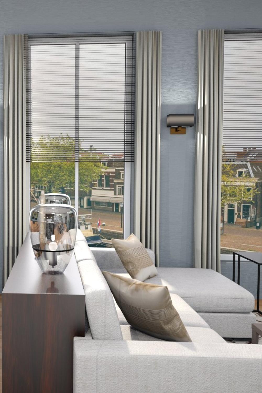 3d render of a living room made on floorplanner