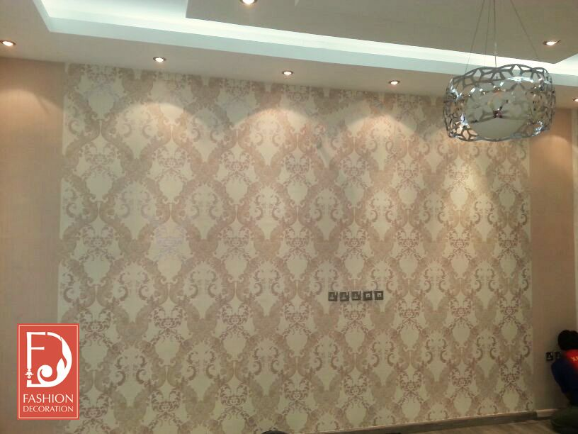 ورق جدران اوروبي 100 Decor Wallpaper ورق جدران ورق حائط ديكور فخامة جمال منازل هوم سنتر Home Center Decor Styles Decor Valance Curtains