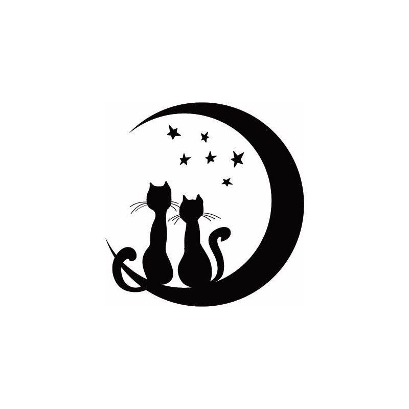 gato luna - Buscar con Google | Gatos | Pinterest | Gato, Buscar con ...