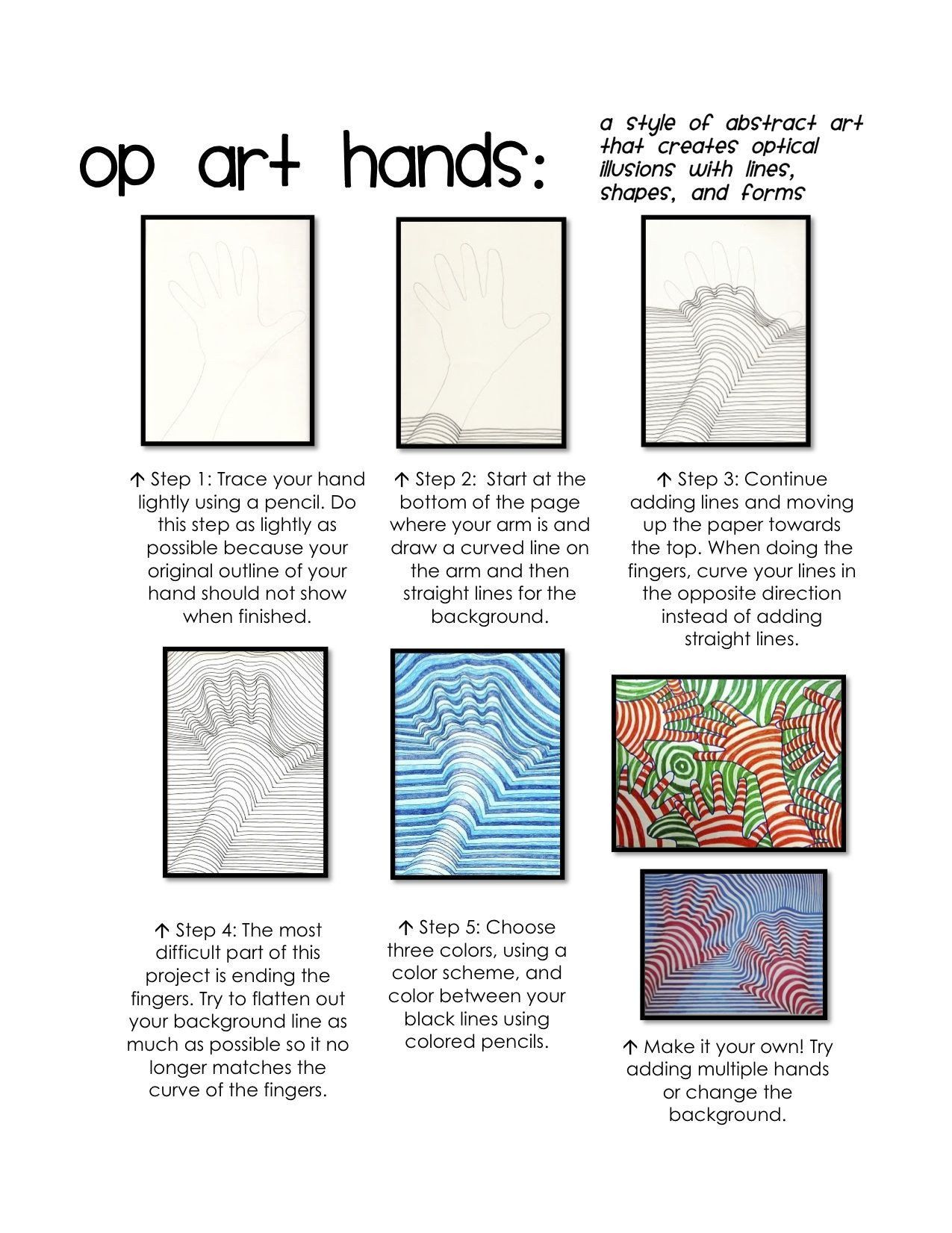 20 Optical Illusion Worksheets Printable In