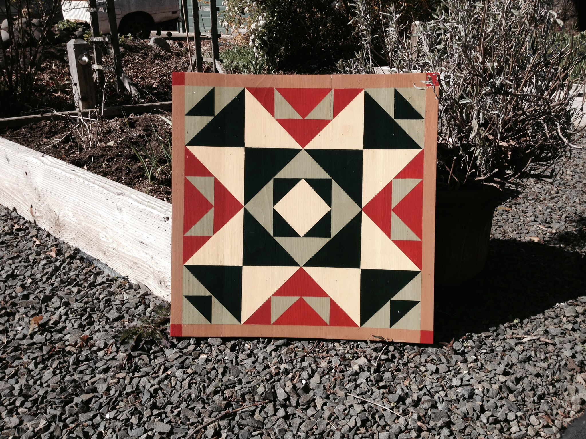 My Barn Quilts Are Made From 1 Quot X 6 Quot Western Red Cedar
