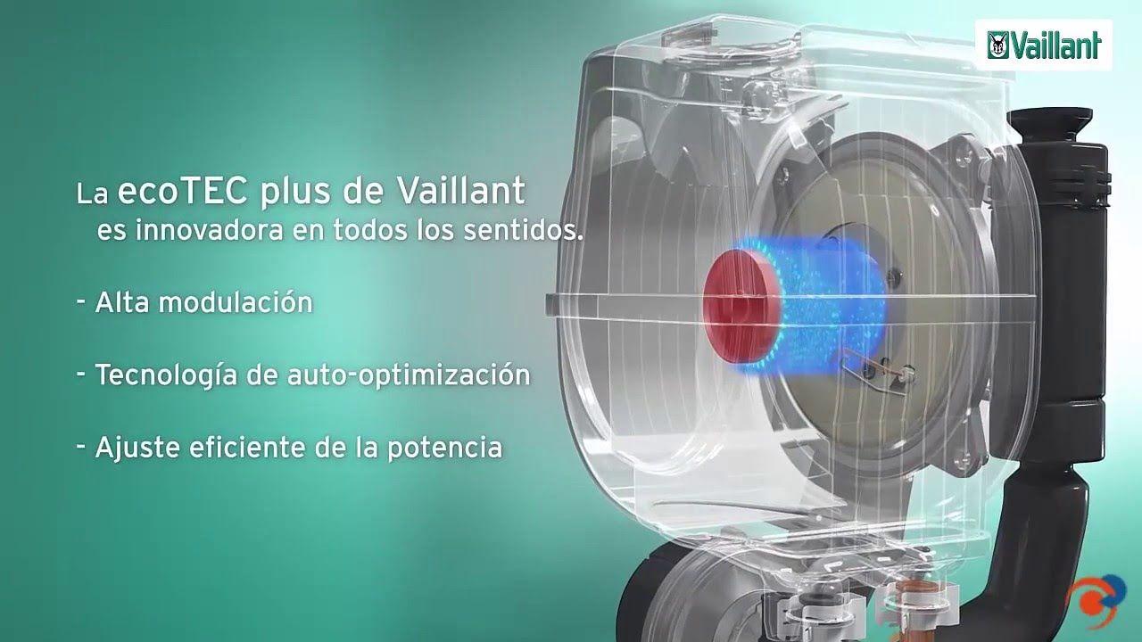 Vaillant Ecotec Plus Caldera Con Clasificación Energética A Y Termostato Modulante Energetico Caldera Calderas De Condensacion