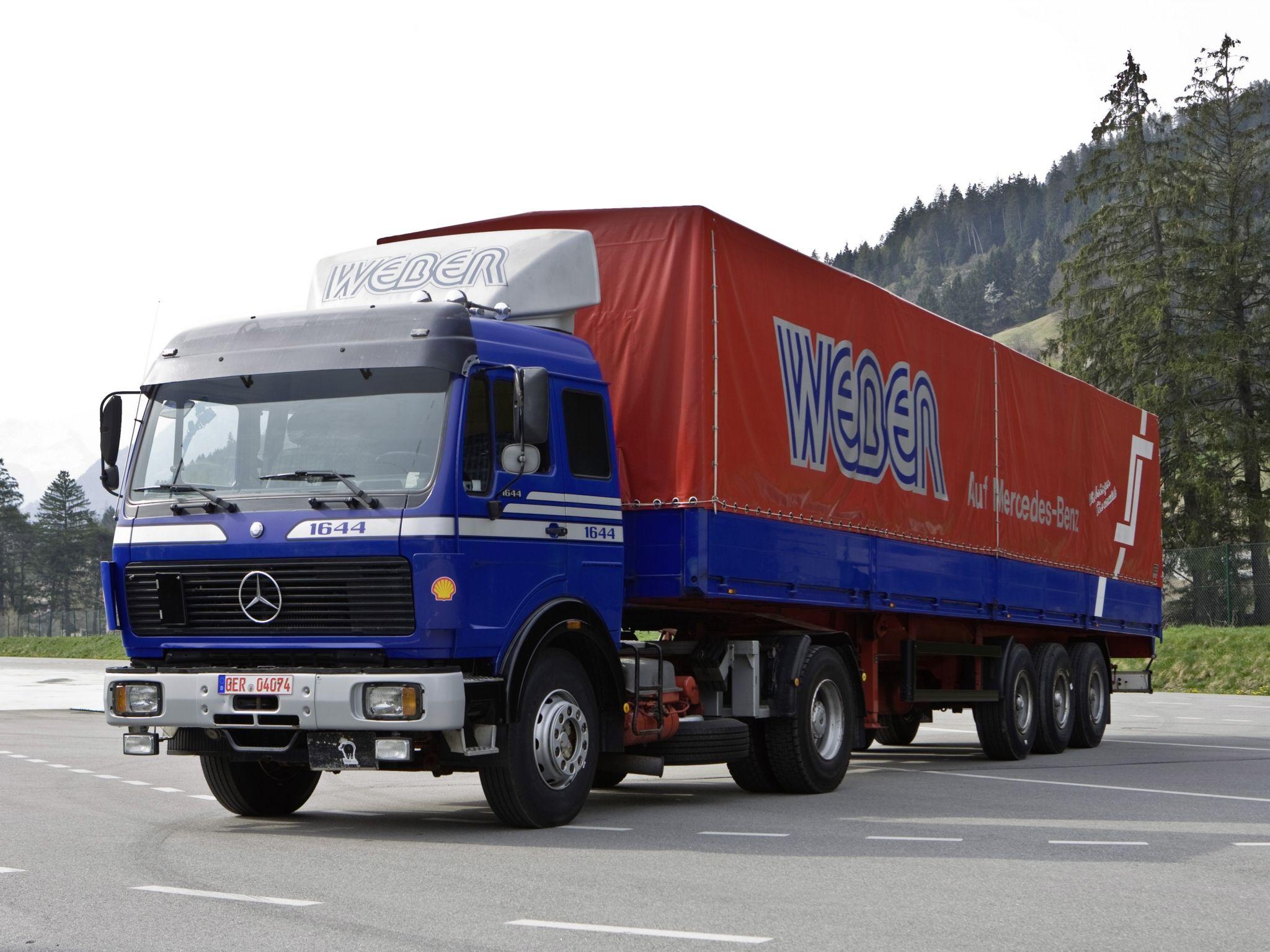 Mercedes benz sk1644 trucks pinterest mercedes benz for Mercedes benz box truck