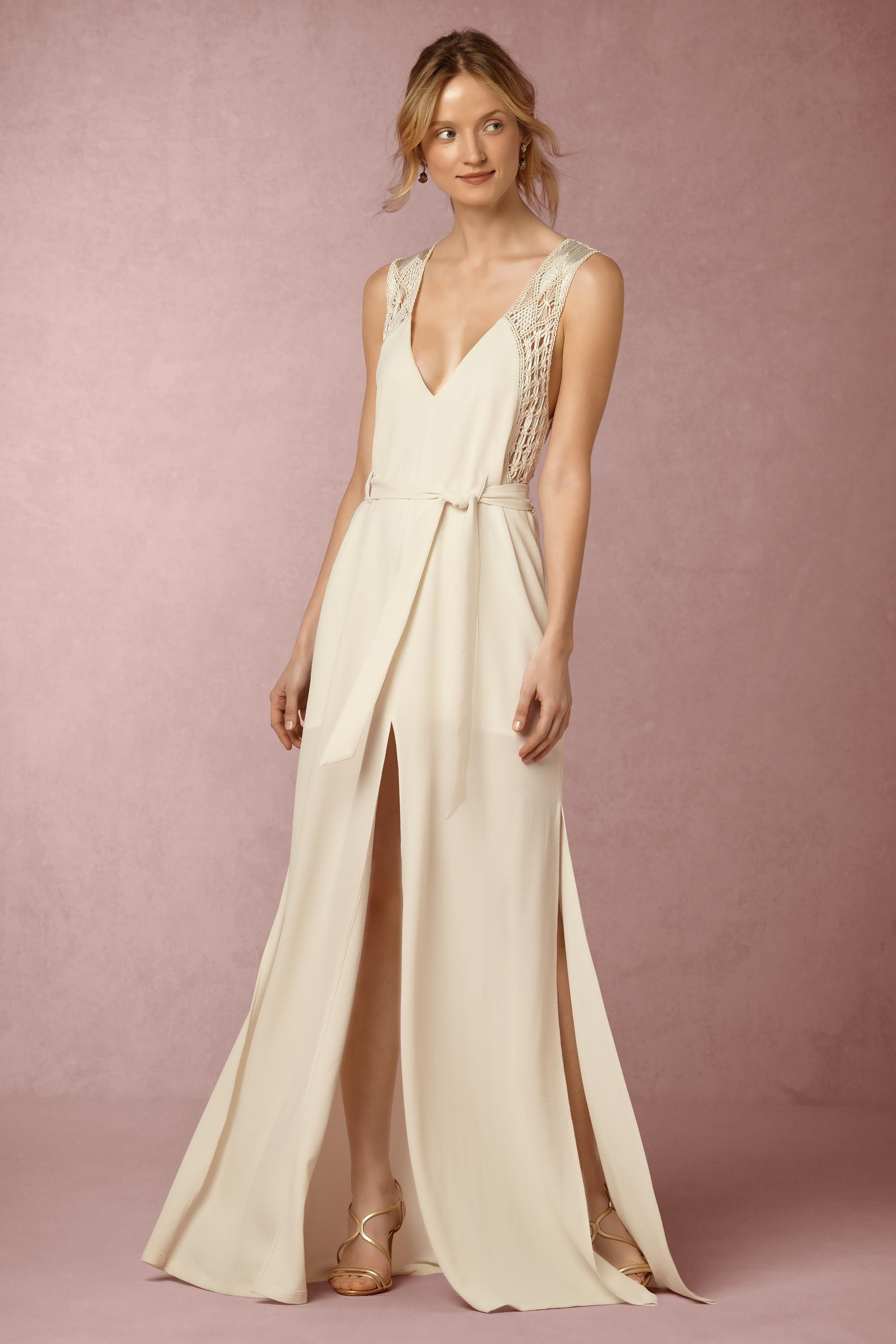 d0bc33c2a0f Alanis Dress from  BHLDN Can t tell if there s a weird underlay but like  the general style