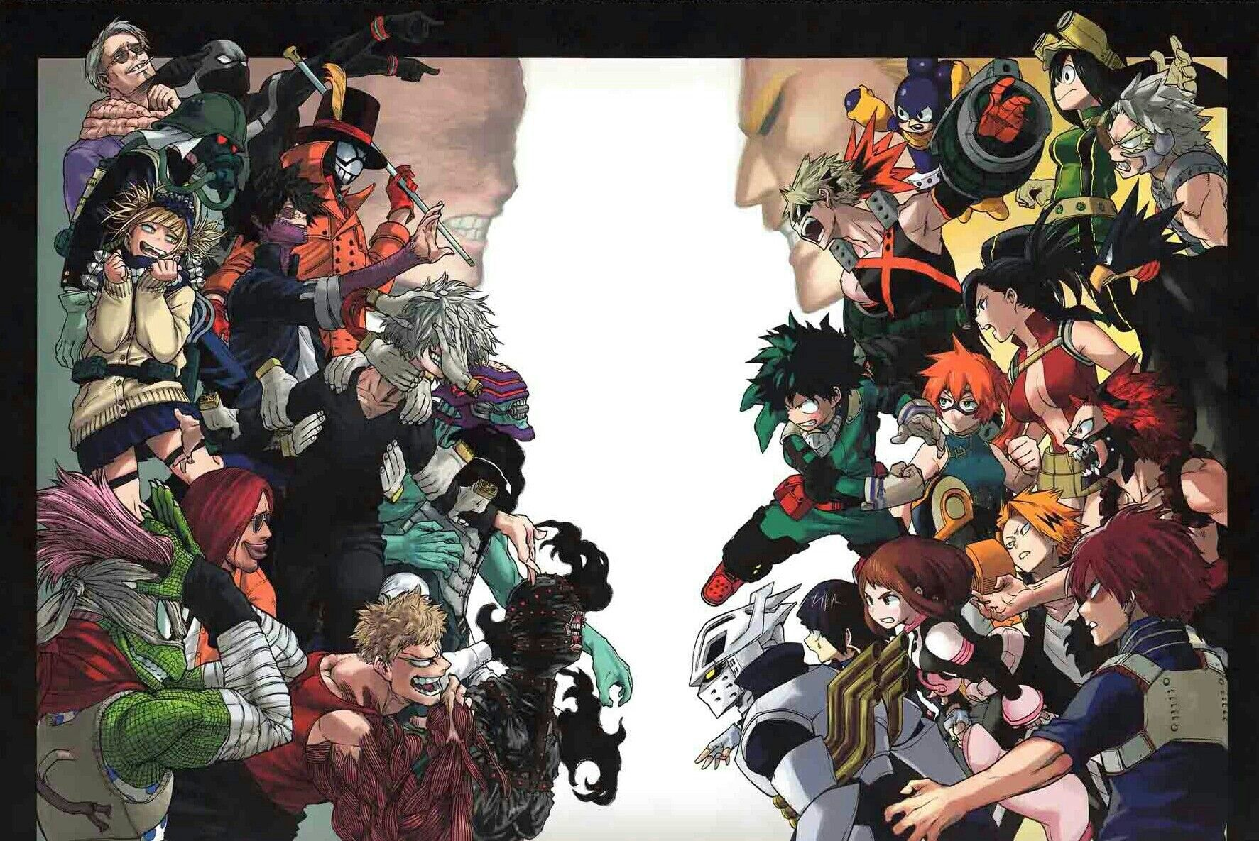 Check out this fantastic collection of my hero academia villains wallpapers,. Heroes vs. Villains | Boku no hero academia, My hero ...