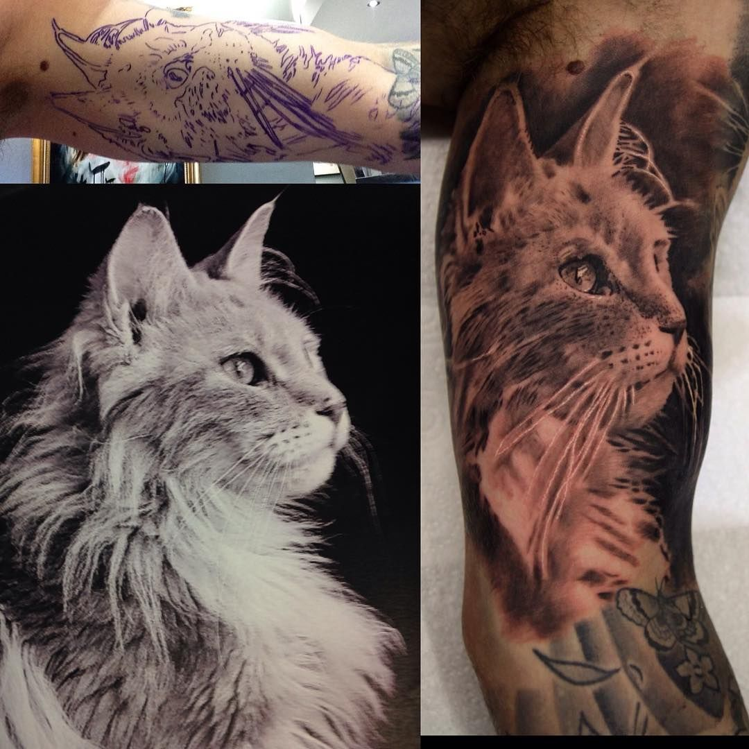 Cat Tattoos Every Cat Tattoo Design Placement And Style: Cat Tattoo Designs, Cat