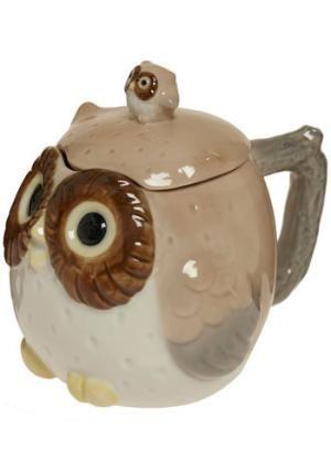 VivaTerra - Owl Mugs and Tea Set