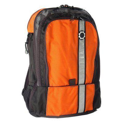 35f127caf50 DadGear Backpack Diaper Bag - Orange Retro Stripe - BP-RS-OR ...