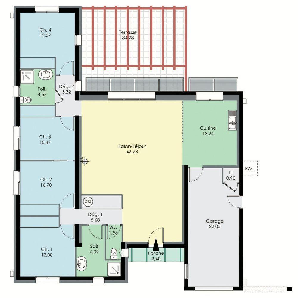 Plan Maison Vide Maison Bioclimatique Maison Bioclimatique Plan De Maison Bioclimatique Plan Maison