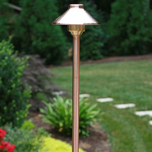 Very Attractive Design Copper Light Fixtures. LED path lights that are great for lighting areas around the landscape  ClaroLux USA made fixtures Clarolux AL12 The is one of s more popular area