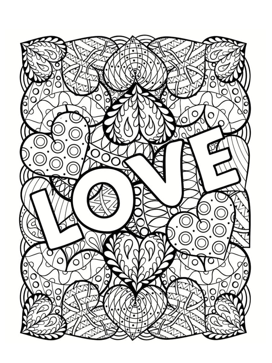 Coloriage Saint Valentin 40 Dessins A Imprimer Gratuitement Valentines Day Coloring Page Love Coloring Pages Coloring Pages