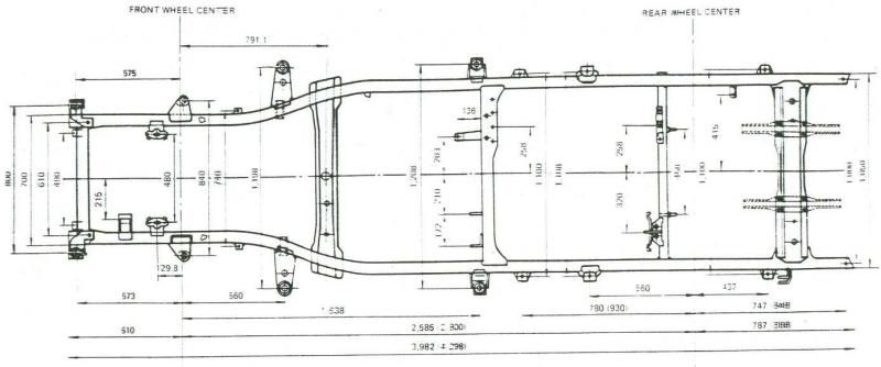 Truck Bed Dimensions >> Baja Truck Drawings Dimensions Bing Images Tacoma Truck