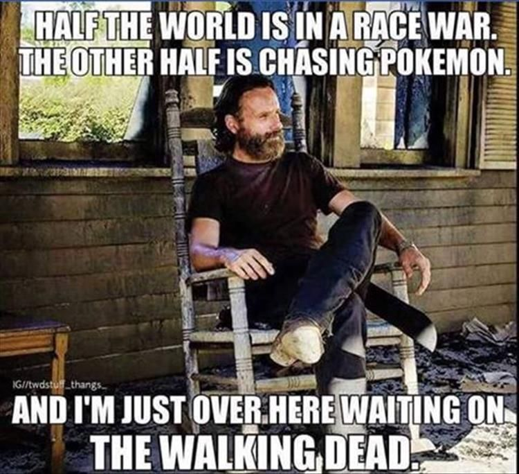 Funny Pictures Of The Day 33 Pics Daily Lol Pics The Walking Dead Walking Dead Funny Fear The Walking Dead