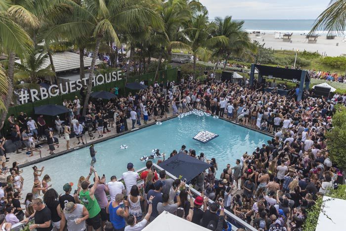 Red Bull Guest House Miami Music Winter Music Conference South Beach Hotels